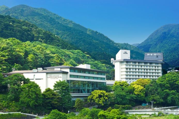 箱根湯本駅より徒歩3分の湯本富士屋ホテル