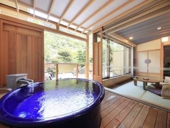 露天風呂付客室 粋彩 一例