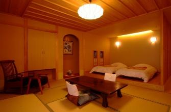 露天風呂付客室10畳+ベッドスペース